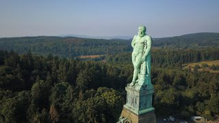 This statue in Kassel, northern Hessen, is of Hercules, who embodied strength, courage and wisdom. Qualities that we can put to good use in these difficult times.