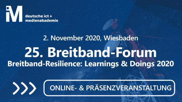 25. Breitband-Forum