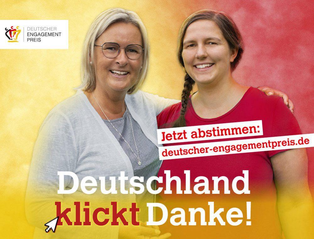 Jetzt abstimmen für den Deutschen Engagementpreis!