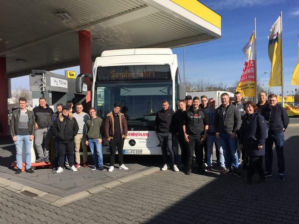 Exkursion im Rhein-Main-Gebiet Brennstoffzellenbusse.