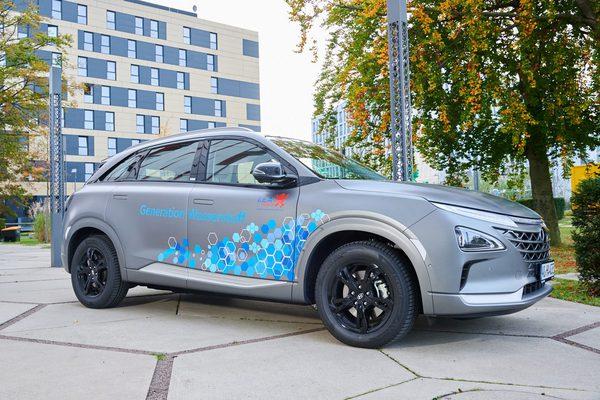 Wasserstoffauto der LEA