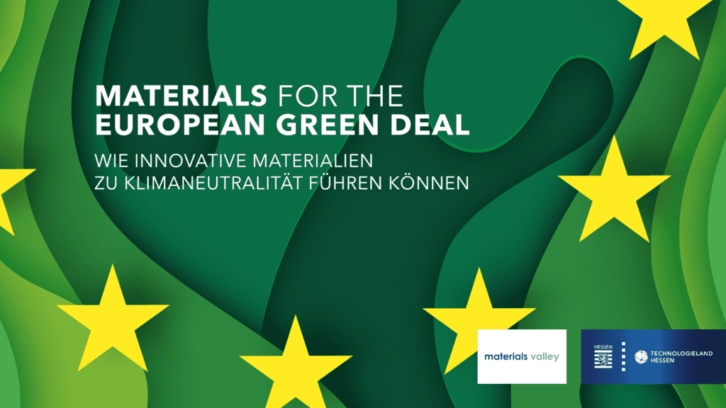 Veranstaltungsreihe Materials for the European Green Deal