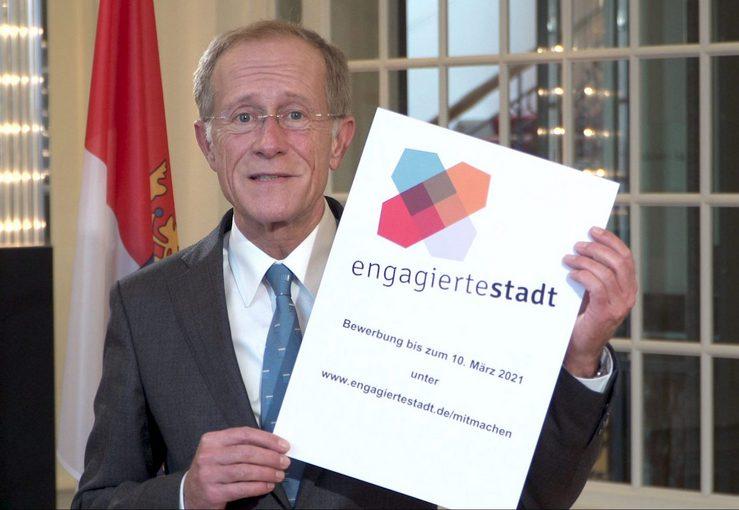 Mitmachen und Engagierte Stadt werden: Bis zum 10. März bewerben!