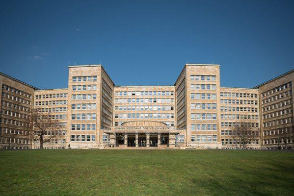 Eingang der Goethe-Universität Frankfurt