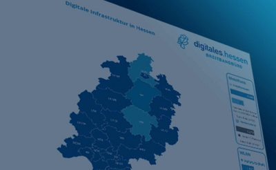 Dashboard Digitale Infrastruktur Hessen