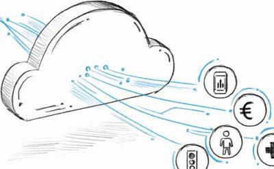 Cloud Darstellung Scribble