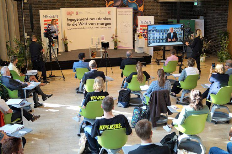 """""""Engagement neu denken für die Welt von morgen"""" – Zweiter Hessischer Engagementkongress gestartet"""