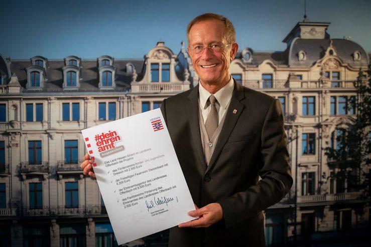 Staatsminister Axel Wintermeyer fördert Projekte im Landkreis Offenbach mit mehr als 20.000 Euro