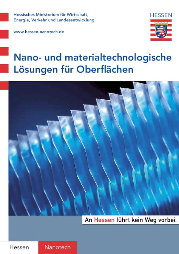 Nano- und materialtechnologische Lösungen für Oberflächen