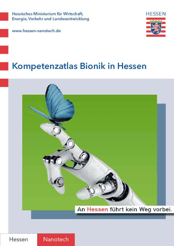 Kompetenzatlas Bionik in Hessen
