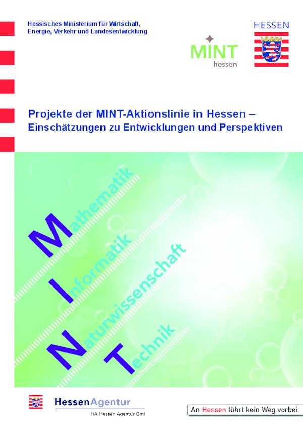 Projekte der MINT-Aktionslinie in Hessen - Einschätzungen zu Entwicklungen und Perspektiven