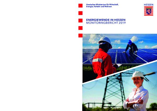 Energiewende in Hessen - Monitoringbericht 2019