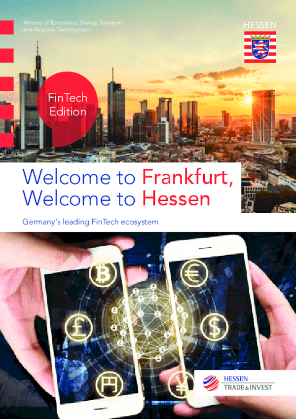 Welcome to Frankfurt, welcome to Hessen - FinTech Edition