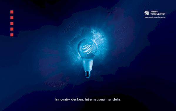 Innovativ denken. International handeln. Wirtschaftsförderer für Hessen