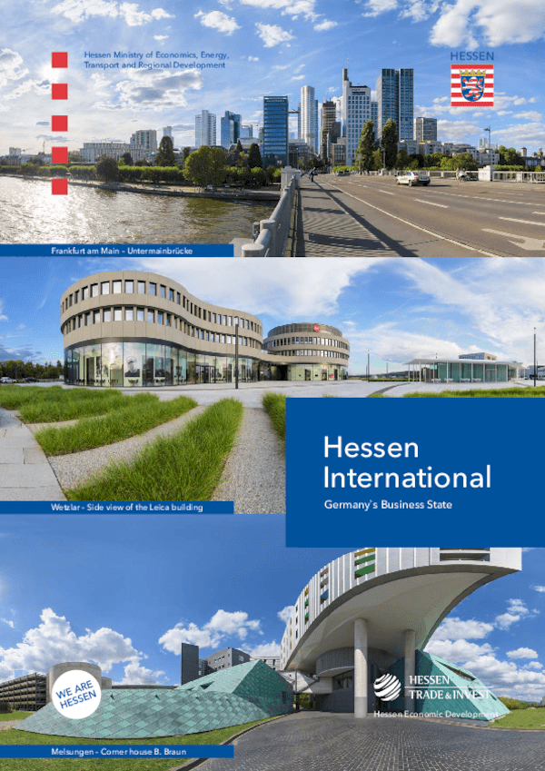 Hessen International Englisch: