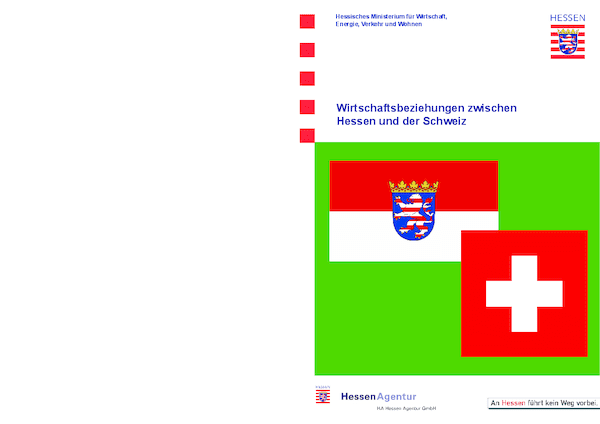 Wirtschaftsbeziehungen zwischen Hessen und der Schweiz