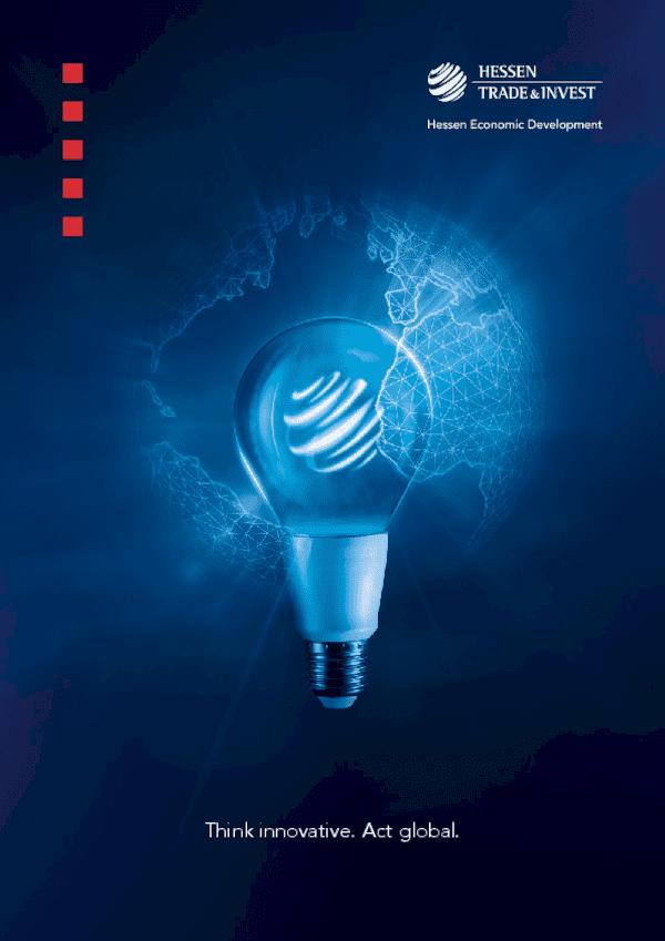 Image-Broschüre Hessen Trade & Invest GmbH 2019 ENGLISCH