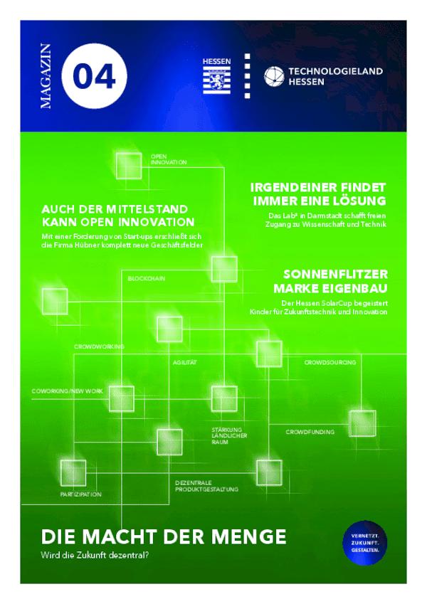 Technologieland-Magazin 4. Ausgabe