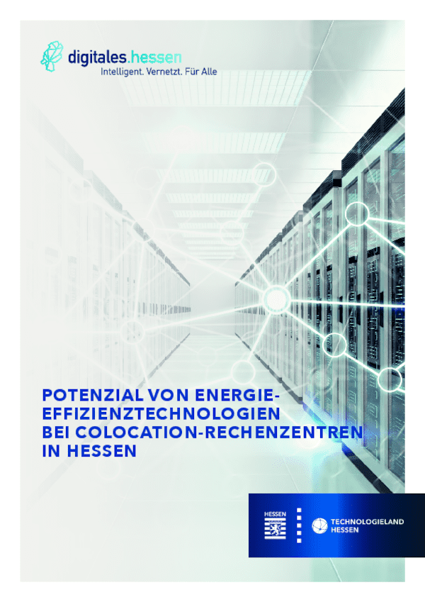Potenzial von Energieeffizienztechnologien bei Colocation Rechenzentren
