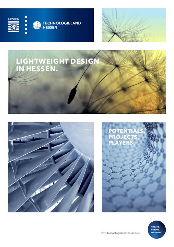 Leichtbau in Hessen. Potenziale, Projekte, Akteure.