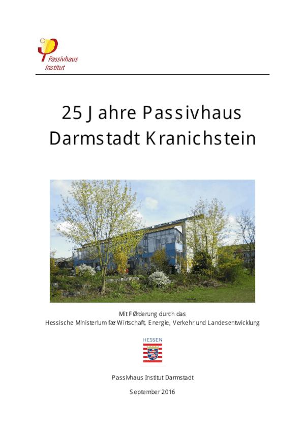 Endbericht Passivhaus