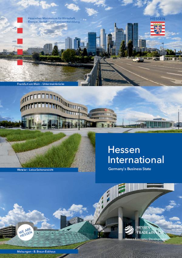 Hessen International. Germany's Business State