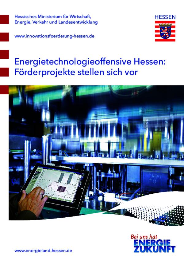 Energietechnologie- offensive Hessen