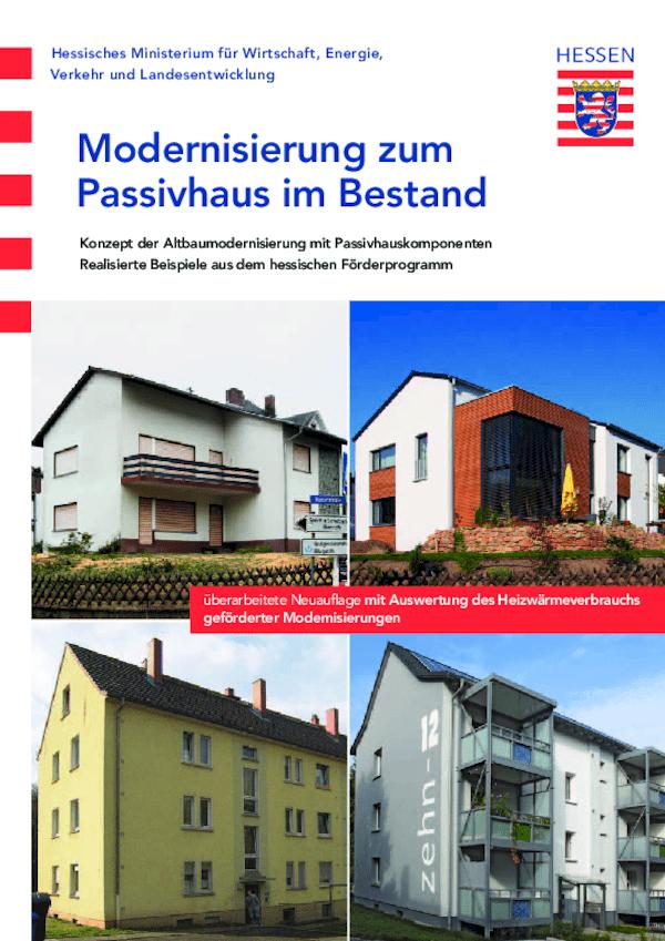 Modernisierung zum Passivhaus im Bestand