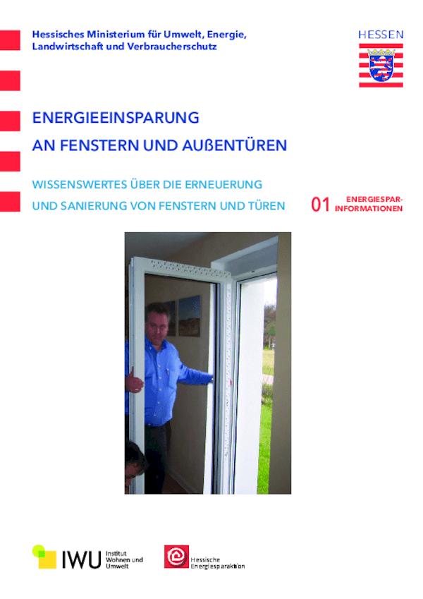 Energieeinsparung an Fenstern und Außentüren (Nr. 1)