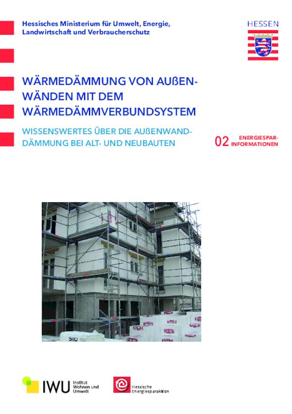 Wärmedämmung von Außenwänden mit dem Wärmedämmverbundsystem (Nr. 2)