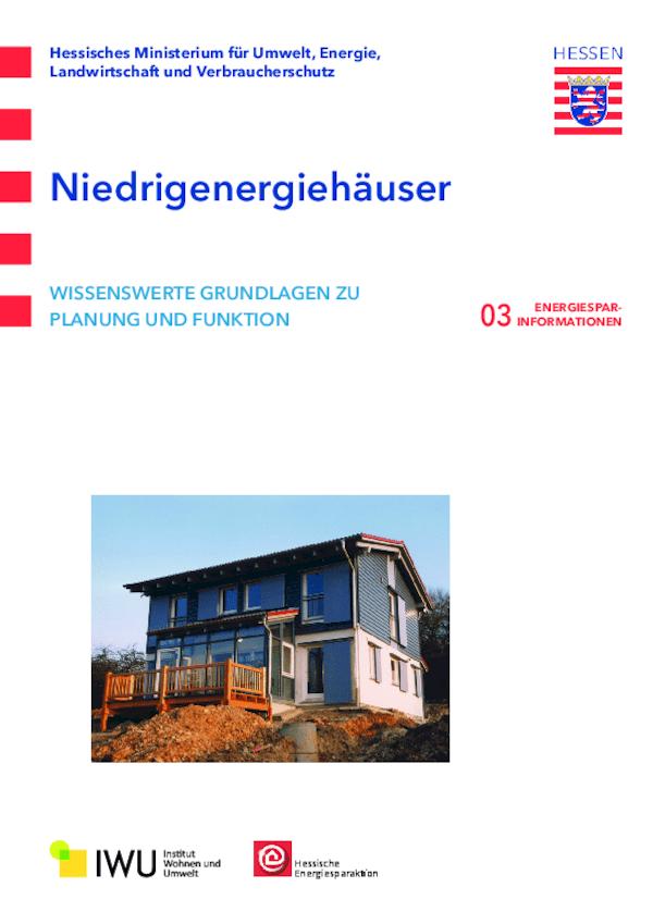 Niedrigenergiehäuser (Nr. 3)