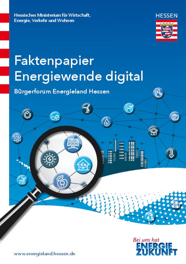 Faktenpapier - Energiewende digital