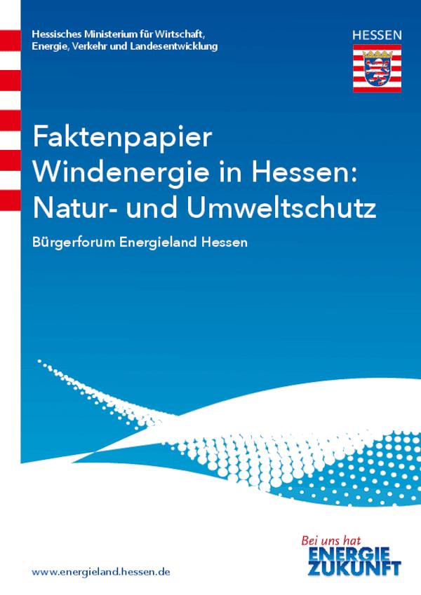 Faktenpapier Natur- und Umweltschutz