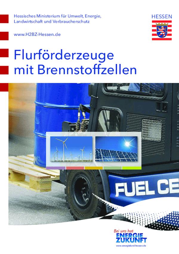Flurförderzeuge mit Brennstoffzellen