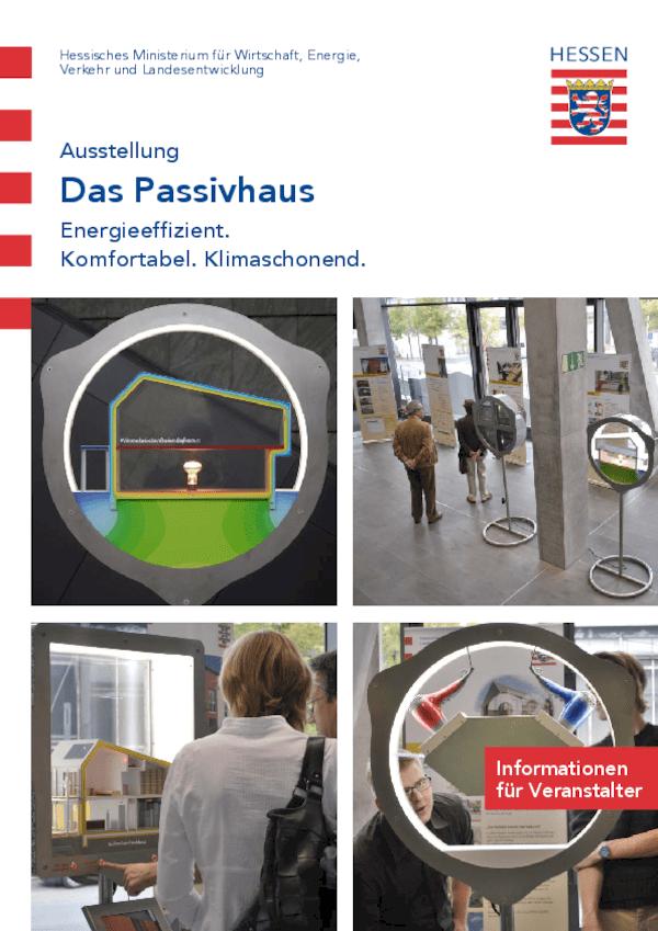 Ausstellung Das Passivhaus - Informationen für Veranstalter