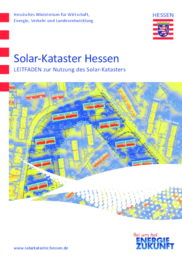 Leitfaden zur Nutzung des Solar-Katasters