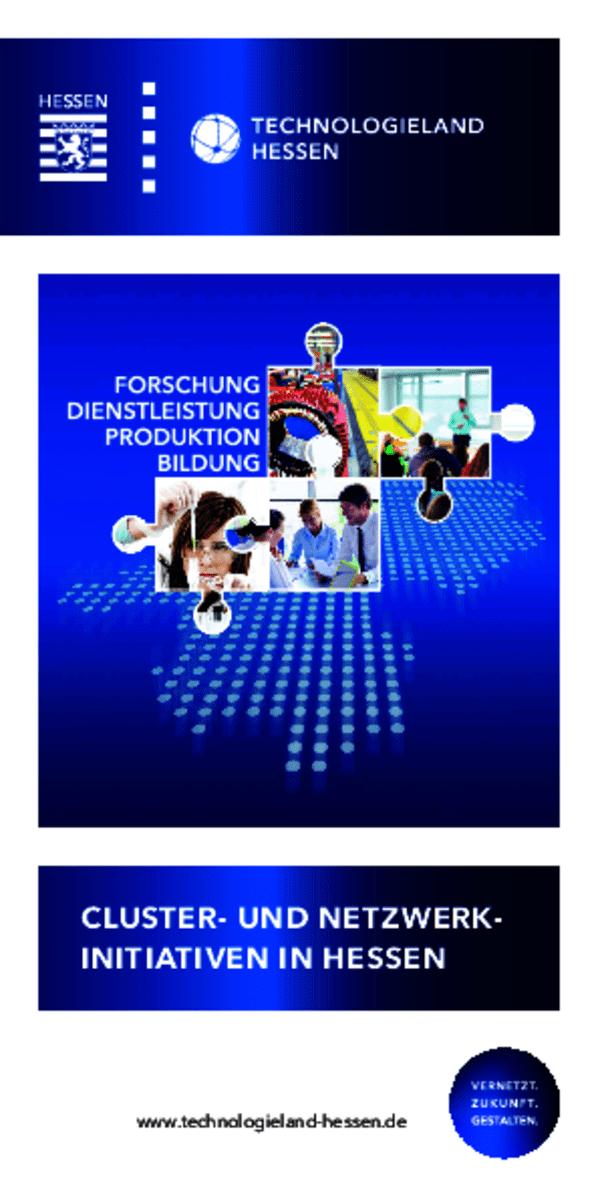 Cluster- & Netzwerk-Initiativen in Hessen