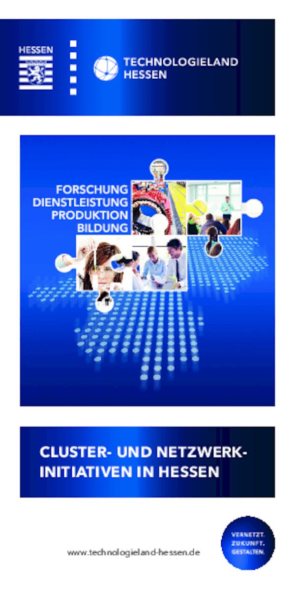 Cluster- und Netzwerkinitiativen in Hessen 2021