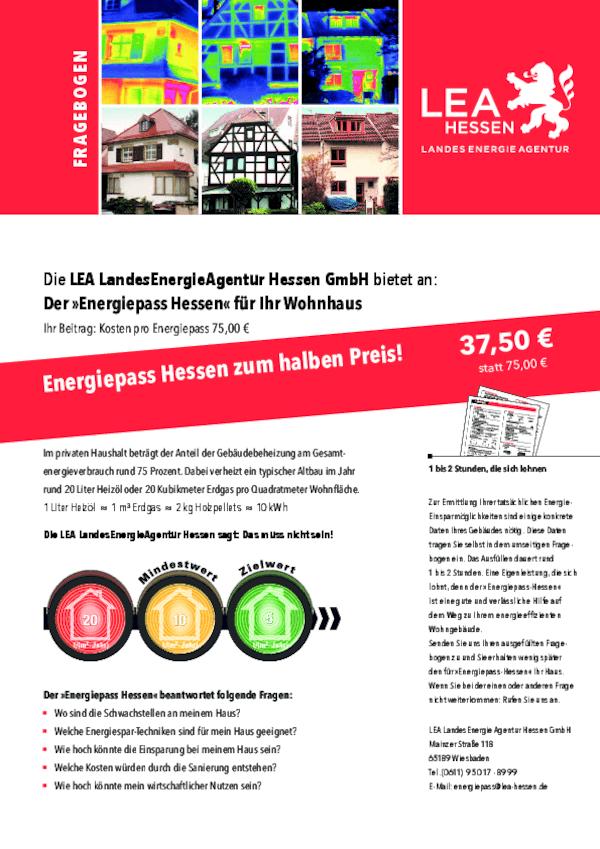 Energiepass Hessen