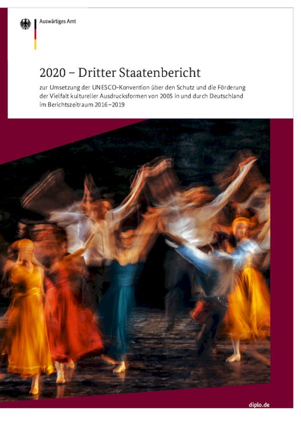 Dritter Staatenbericht zu Kunst und Kultur