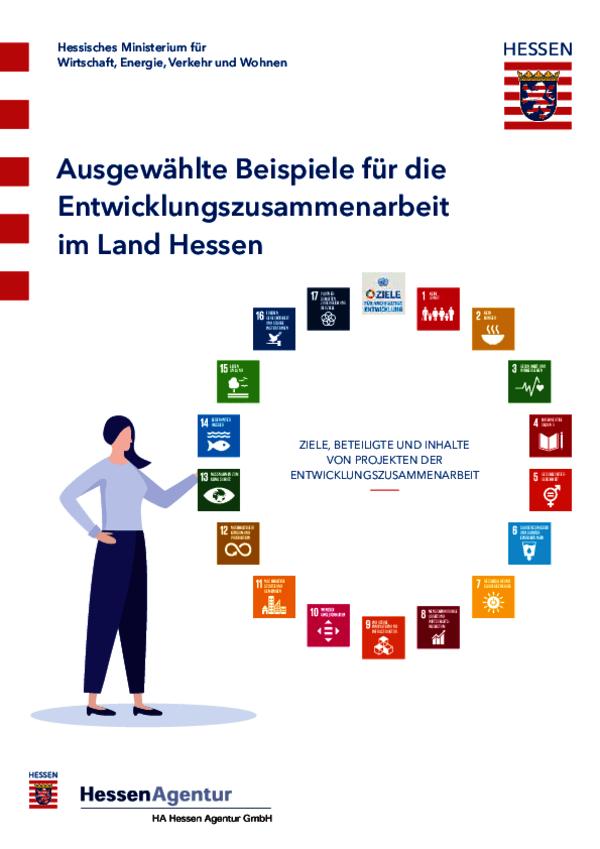 Ausgewählte Beispiele für die Entwicklungszusammenarbeit im Land Hessen