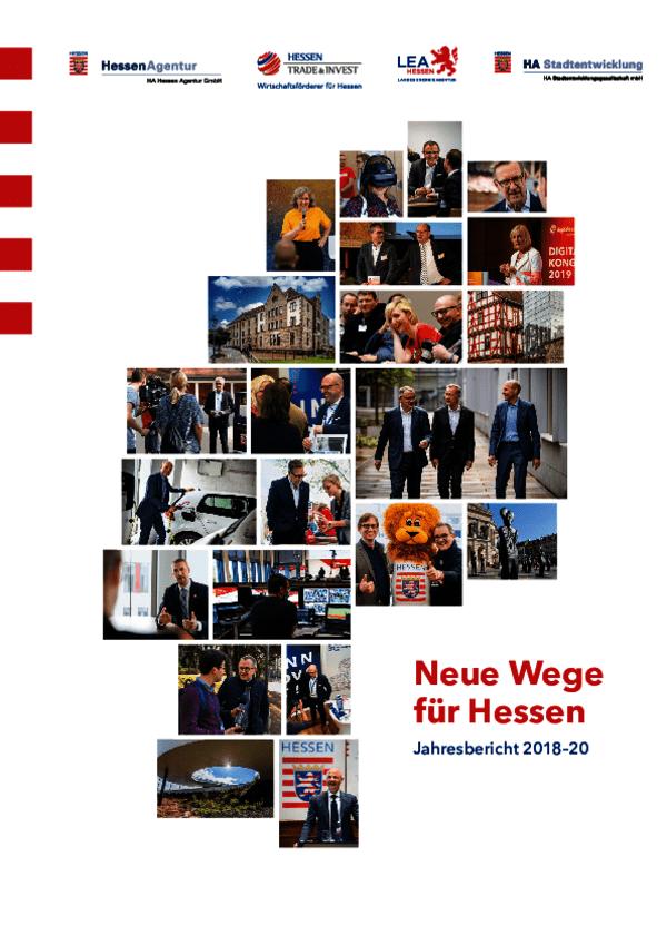 Jahresbericht 2018–2020: Neue Wege für Hessen