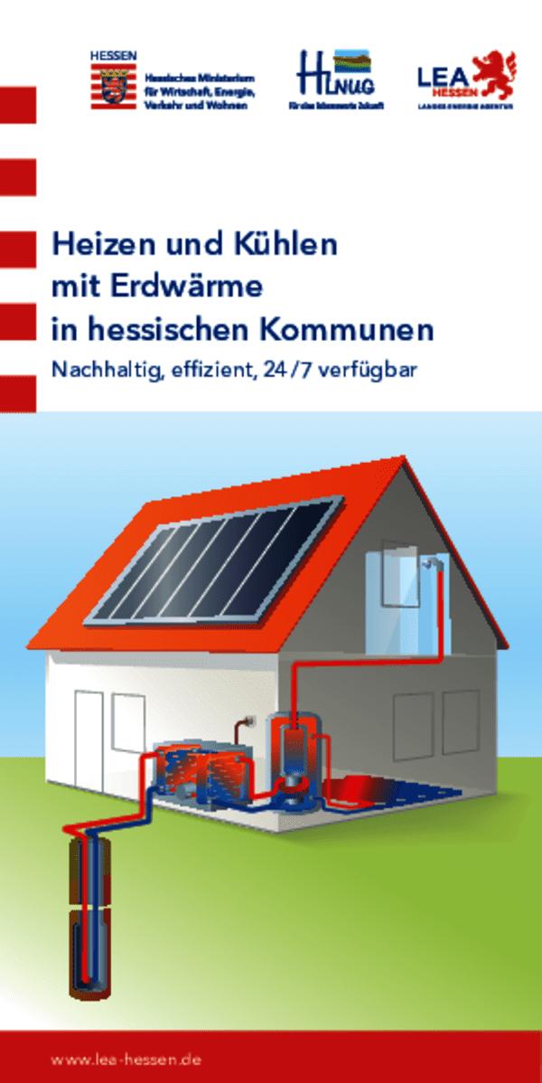 Heizen und Kühlen mit Erdwärme in hessischen Kommunen