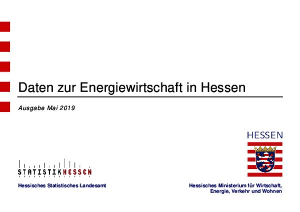 Daten zur Energiewirtschaft in Hessen (2019)