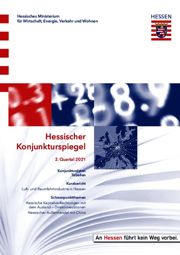 Hessischer Konjunkturspiegel 02/2021