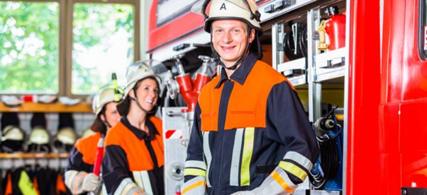 Klassiches Ehrenamt - Bild einer Freiwilligen Feuerwehr Copyright:Kzenon-Adobe-Stock