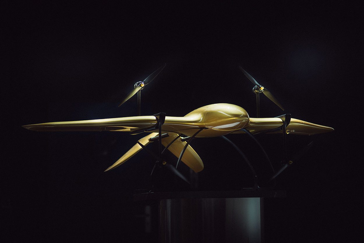 Wingcopter in Gold
