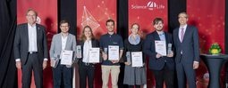 Das sind die Gewinner des Science4Life Technology Slam © Science4Life