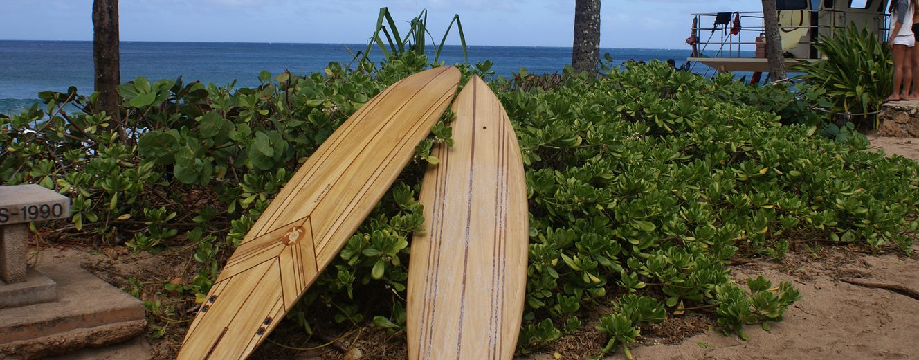 Surfboards aus Holz