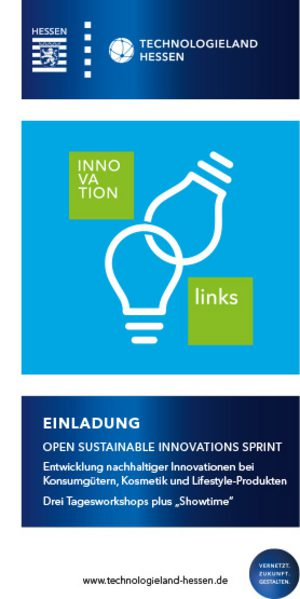EINLADUNG OPEN SUSTAINABLE INNOVATIONS SPRINT PDF